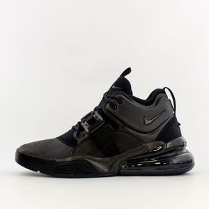 New Nike Air Force 270 Triple Black Lifestyle Shoe